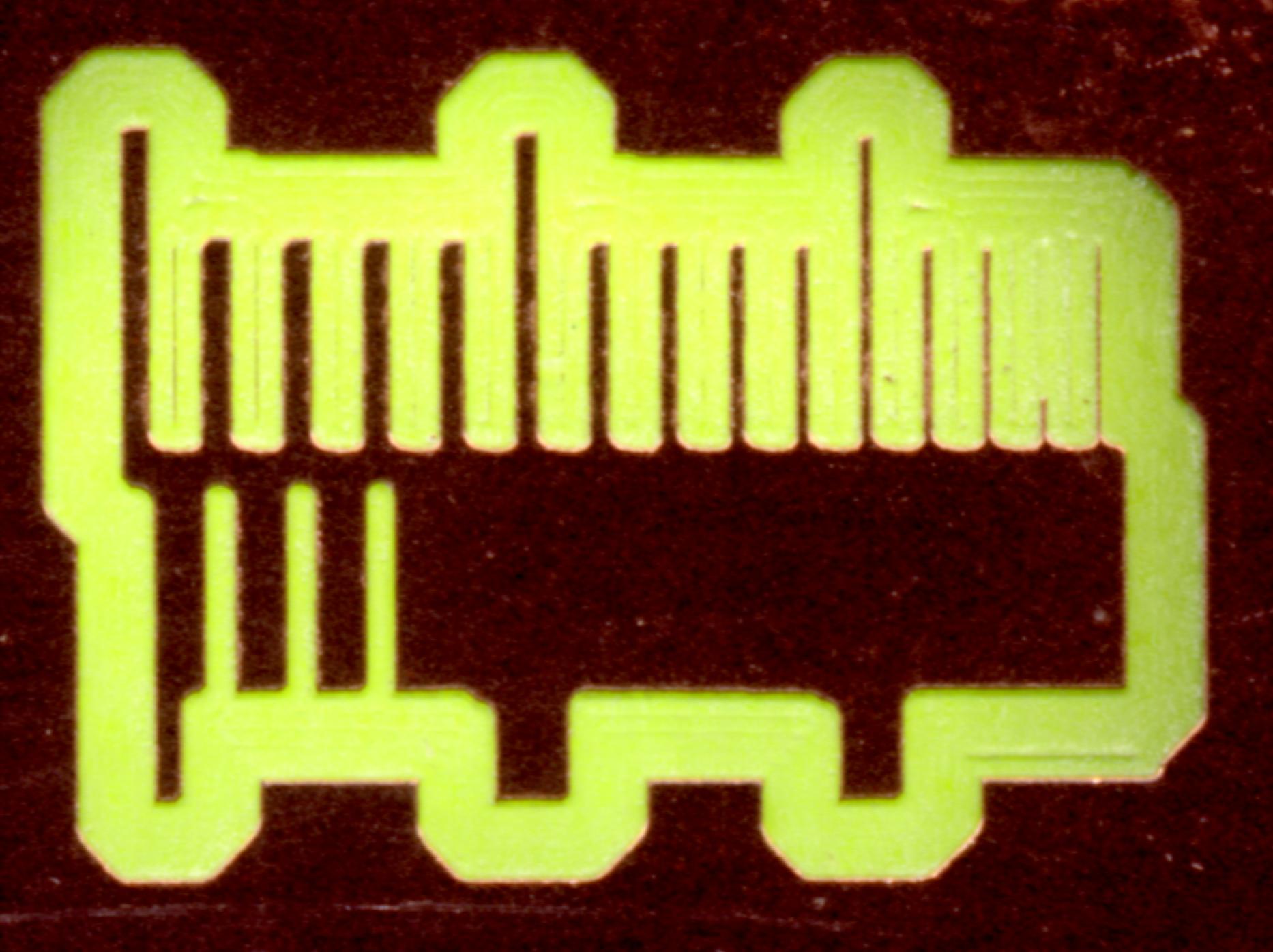 Calibrating PCB isolation routing with Eagle/pcb-gcode